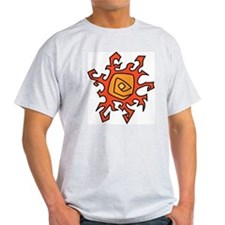 Funky Sun Ash Grey T-Shirt