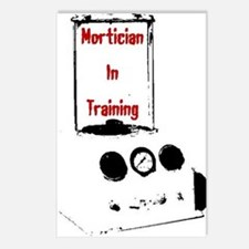 Mortician Postcards (Package of 8)