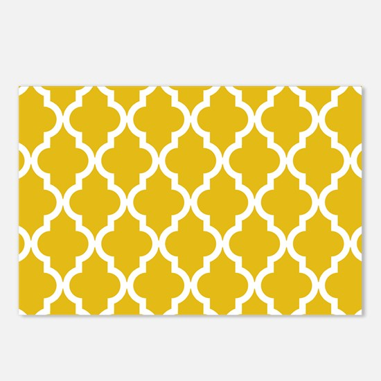 Mustard Yellow Moroccan P Postcards (Package of 8)