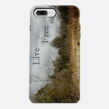 441_iphone_case live free iPhone 7 Plus Tough Case