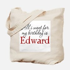 Birthday Edward Tote Bag
