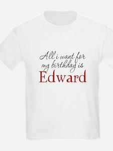 Birthday Edward T-Shirt