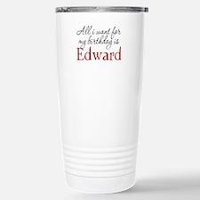 Birthday Edward Travel Mug