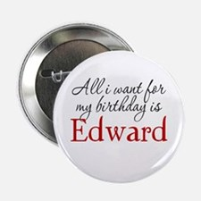 "Birthday Edward 2.25"" Button"