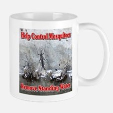 Help Control Mosquitoes Remove Standing Mug