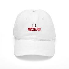Number 1 MECHANIC Baseball Cap