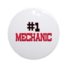 Number 1 MECHANIC Ornament (Round)