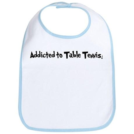 Addicted to Table Tennis Bib