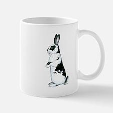 Black and White Rabbit Mug