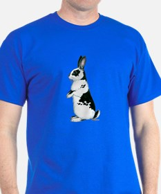 Black and White Rabbit T-Shirt