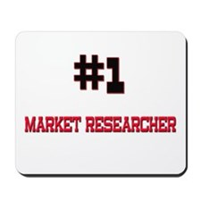 Number 1 MARKET RESEARCHER Mousepad