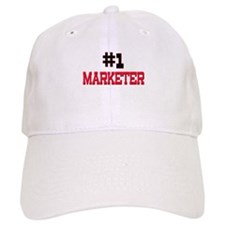 Number 1 MARKETER Baseball Cap