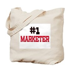 Number 1 MARKETER Tote Bag