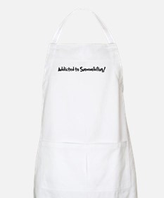 Addicted to Snowmobiling BBQ Apron