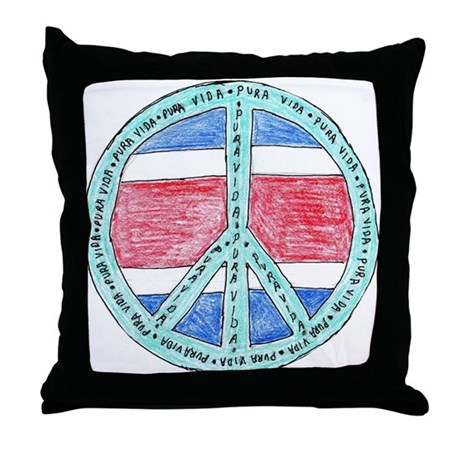 Pure Life Throw Pillow