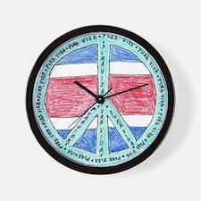 Pure Life Wall Clock