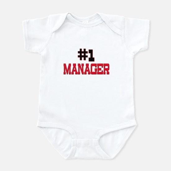 Number 1 MANAGER Infant Bodysuit