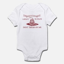 Culpeper Flag (Crimson) Infant Bodysuit
