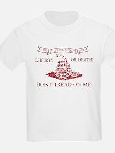 Culpeper Flag (Crimson) T-Shirt