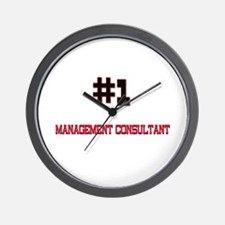 Number 1 MANAGEMENT CONSULTANT Wall Clock