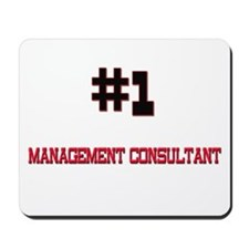 Number 1 MANAGEMENT CONSULTANT Mousepad