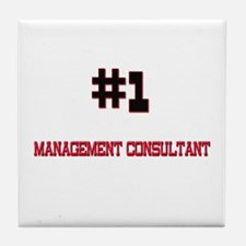Number 1 MANAGEMENT CONSULTANT Tile Coaster