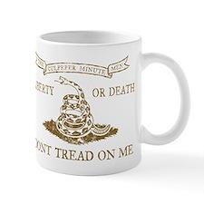 Culpeper Flag (Brown) Small Mug