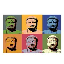 Cute Buddha Postcards (Package of 8)