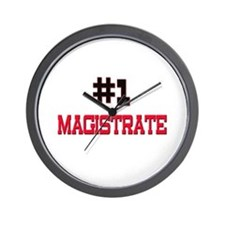 Number 1 MAGISTRATE Wall Clock