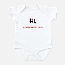 Number 1 MAGAZINE FEATURES EDITOR Infant Bodysuit