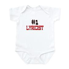Number 1 LYRICIST Infant Bodysuit