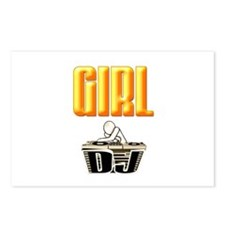 Girl Deejay Postcards (Package of 8)
