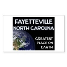 fayetteville north carolina - greatest place on ea
