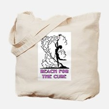 Funny Cancer tree Tote Bag