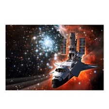 Hubble Service Mission 4 Postcards (Package of 8)