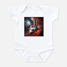 Hubble Service Mission 4 Infant Bodysuit