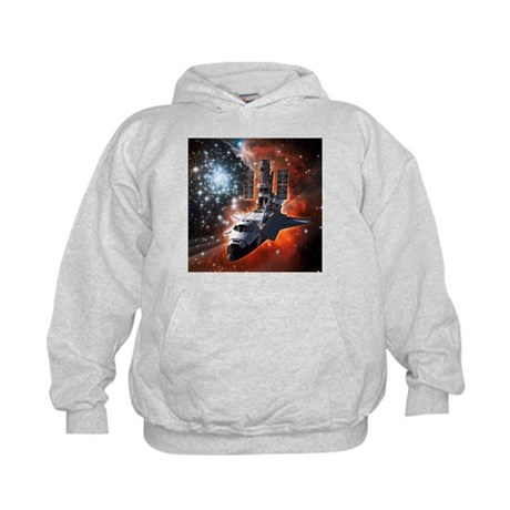 Hubble Service Mission 4 Kids Hoodie