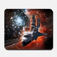 Hubble Service Mission 4 Mousepad