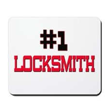 Number 1 LOCKSMITH Mousepad