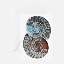 Unique Fossil Greeting Card