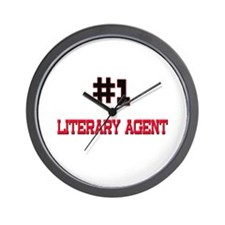 Number 1 LITERARY AGENT Wall Clock