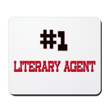 Number 1 LITERARY AGENT Mousepad