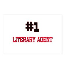 Number 1 LITERARY AGENT Postcards (Package of 8)
