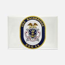 USS Bainbridge DDG 96 Navy Rectangle Magnet