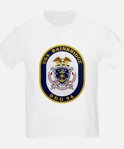 USS Bainbridge DDG 96 Navy T-Shirt