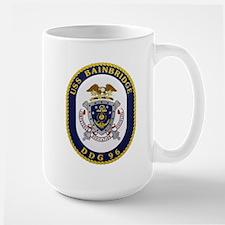 USS Bainbridge DDG 96 Navy Large Mug