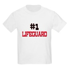 Number 1 LIFEGUARD T-Shirt