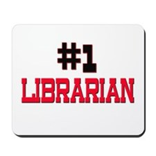 Number 1 LIBRARIAN Mousepad