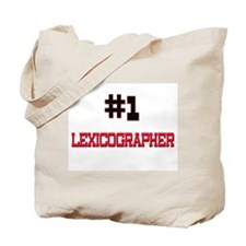 Number 1 LEXICOGRAPHER Tote Bag