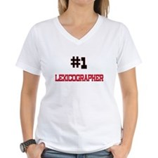 Number 1 LEXICOGRAPHER Shirt